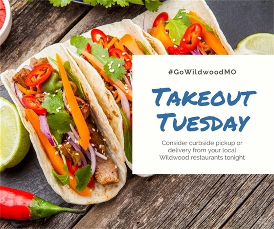 #GoWildwoodMO - Takeout Tuesday