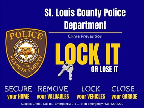 St. Louis County Police Department - Lock It or Lost It