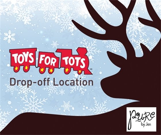 Toys for Tots - Pure by Jen in Wildwood Town Center - Main Street