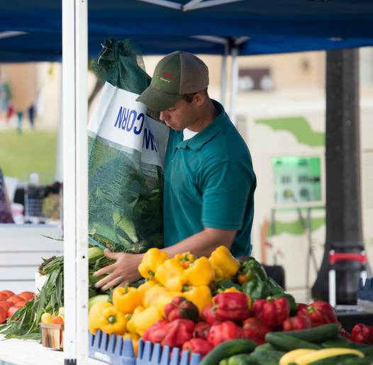 Farmers Market - Saturdays 8:00 a.m. to noon from May 19th through October 6th