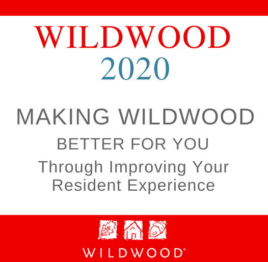 Wildwood 2020 Program - Making Wildwood better through your resident experience