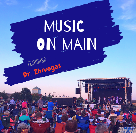Spotlight- Music on Main - Dr. Zhivegas