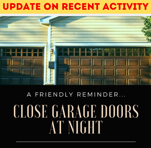 UPDATE - Close Garage Doors_Spotlight