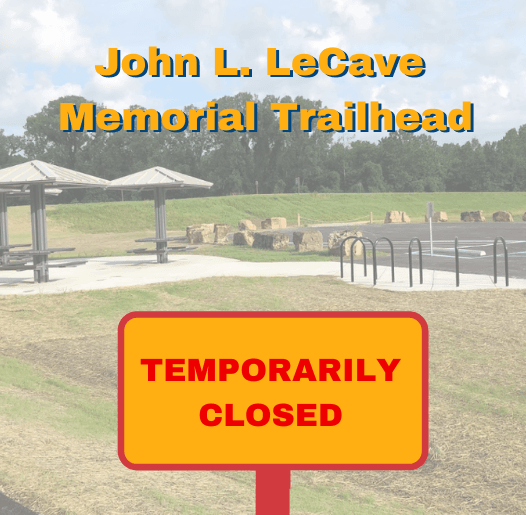 LeCave Trailhead Closed spotlight