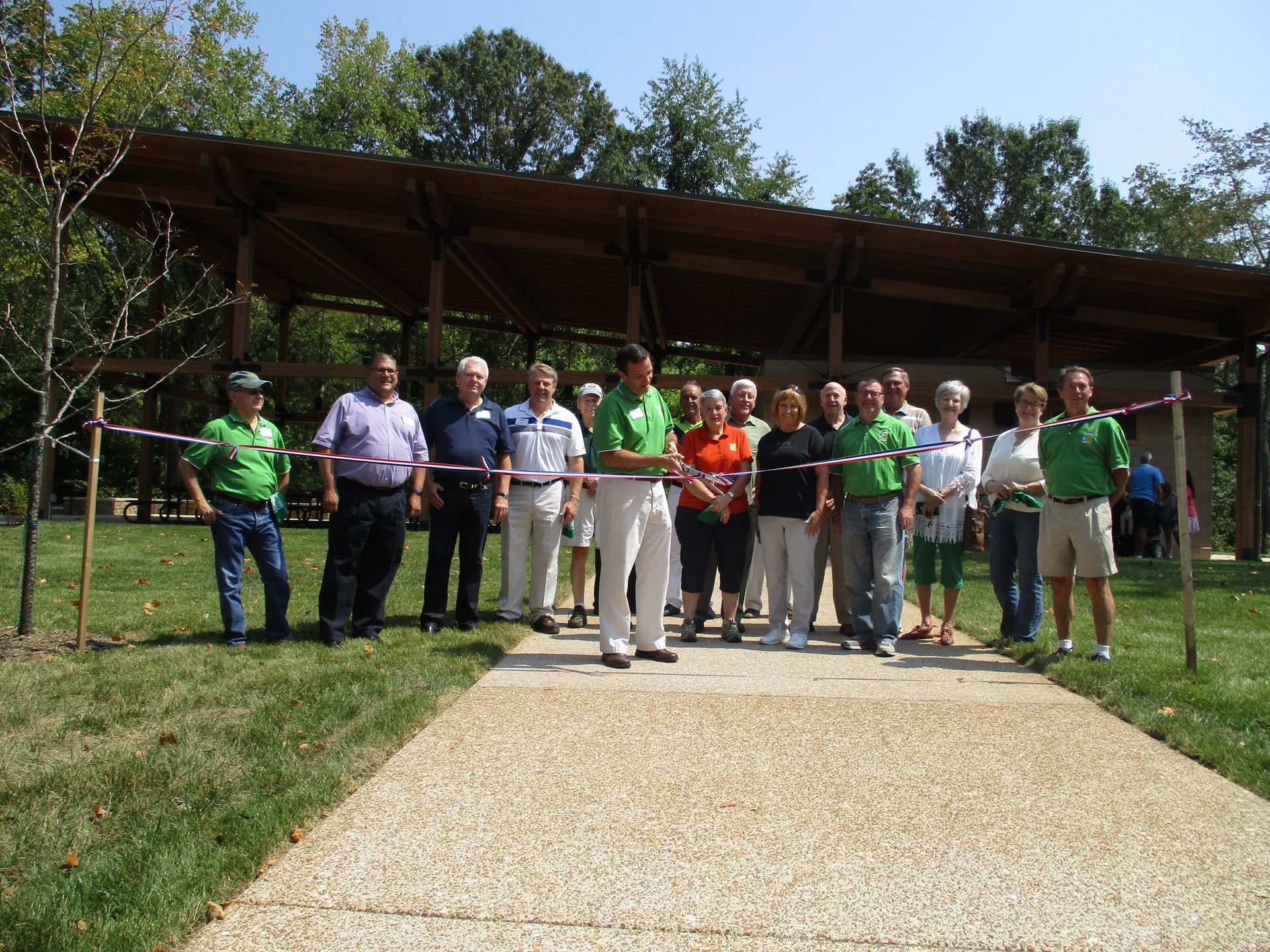 Community Park Ribbon Cutting